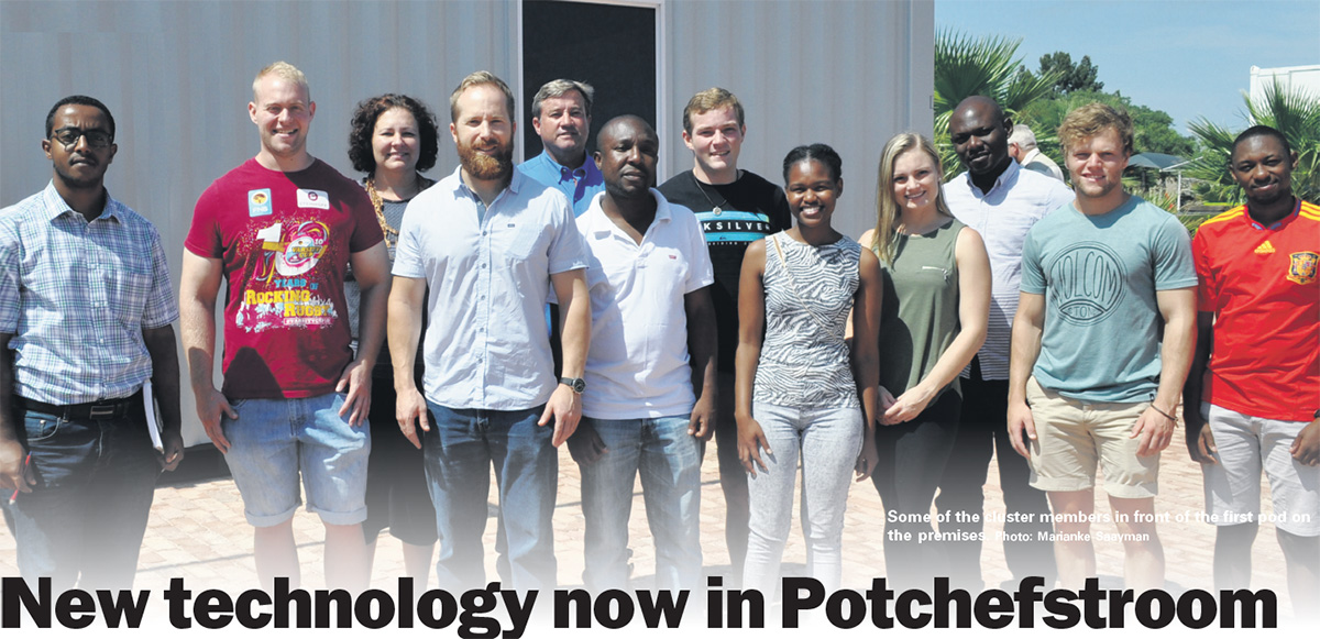 New technology now in Potchefstroom - Potchefstroom Herald - 22 February 2018